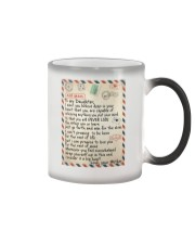 To My Daughter - Mother Color Changing Mug thumbnail