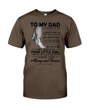 To My Dad - Daughter Premium Fit Mens Tee thumbnail