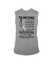 To My Dad - Daughter Sleeveless Tee thumbnail