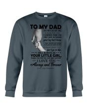 To My Dad - Daughter Crewneck Sweatshirt thumbnail