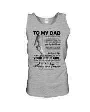 To My Dad - Daughter Unisex Tank thumbnail