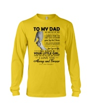 To My Dad - Daughter Long Sleeve Tee thumbnail