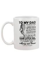 To My Dad - Daughter Mug back