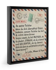 Tochter - Mama and Papa 11x14 Black Floating Framed Canvas Prints thumbnail