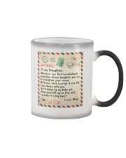 To My Daughter - Mom  Color Changing Mug thumbnail