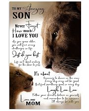 To My Amazing Son - Mom Vertical Poster tile