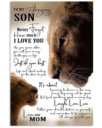 To My Amazing Son - Mom