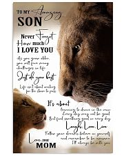 To My Amazing Son - Mom 16x24 Poster front