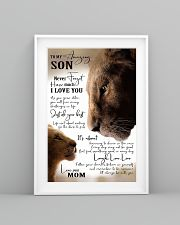To My Amazing Son - Mom 16x24 Poster lifestyle-poster-5