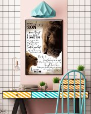 To My Amazing Son - Mom 16x24 Poster lifestyle-poster-6