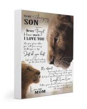 To My Amazing Son - Mom 11x14 Gallery Wrapped Canvas Prints thumbnail
