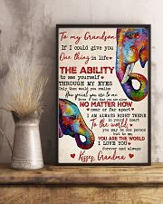 To My Grandson 16x24 Poster lifestyle-poster-3