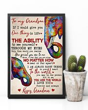 To My Grandson 16x24 Poster lifestyle-poster-8