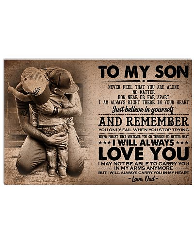 To My  Son - Mom -Dad
