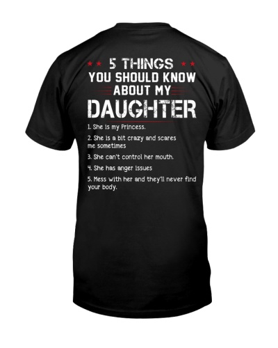 5 Thing My Daughter