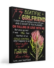 To My Beatiful Girlfriend 16x20 Gallery Wrapped Canvas Prints thumbnail