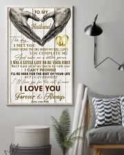 To My Husband - WIfe 11x17 Poster lifestyle-poster-1
