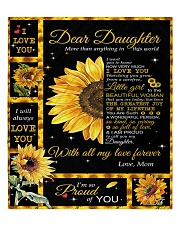 """To My Daughter - Mom  Quilt 60""""x70"""" - Twin thumbnail"""