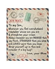 """To My Son - Mom Quilt 40""""x50"""" - Baby thumbnail"""