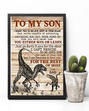 To My  Son - Dad 16x24 Poster lifestyle-poster-8