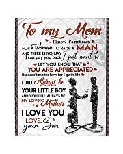 """To My Mom - Son Quilt 40""""x50"""" - Baby thumbnail"""