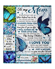 """To My Mom - Daughter Quilt 50""""x60"""" - Throw thumbnail"""