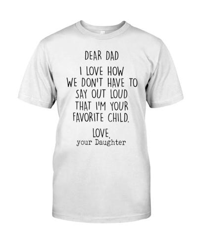 Dear Dad - Daughter