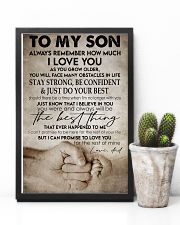 To my son -Dad 16x24 Poster lifestyle-poster-8