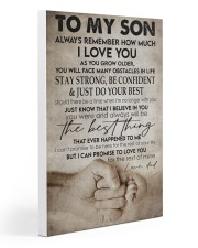 To my son -Dad 20x30 Gallery Wrapped Canvas Prints thumbnail