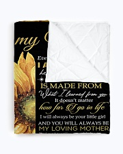 """To My Mom - Daughter Quilt 60""""x70"""" - Twin aos-quilt-60x70-lifestyle-closeup-front-01"""