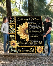 """To My Mom - Daughter Quilt 60""""x70"""" - Twin aos-quilt-60x70-lifestyle-front-03"""