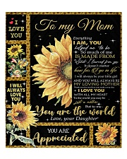 """To My Mom - Daughter Quilt 60""""x70"""" - Twin front"""