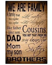 WE ARE FAMILY Vertical Poster tile