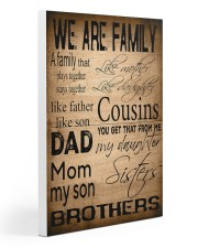 WE ARE FAMILY 20x30 Gallery Wrapped Canvas Prints thumbnail