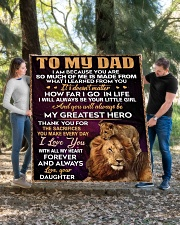 """To My Dad - Daughter Quilt 60""""x70"""" - Twin aos-quilt-60x70-lifestyle-front-03"""