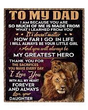 """To My Dad - Daughter Quilt 60""""x70"""" - Twin front"""