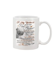 To My Husband - Wife Mug tile