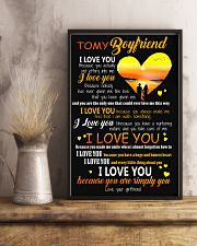To My Boy Friend 11x17 Poster lifestyle-poster-3