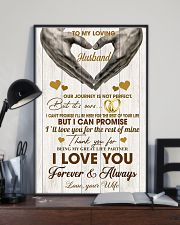 To My Loving Husband - WIfe 11x17 Poster lifestyle-poster-2