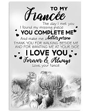 To My  Fiancée Vertical Poster tile