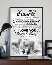 To My  Fiancée 16x24 Poster lifestyle-poster-2