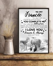 To My  Fiancée 16x24 Poster lifestyle-poster-3