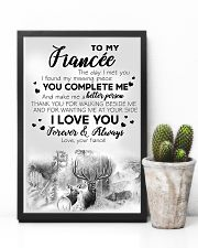 To My  Fiancée 16x24 Poster lifestyle-poster-8