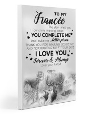 To My  Fiancée 20x30 Gallery Wrapped Canvas Prints thumbnail