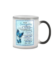 To My Daughter - Mom Color Changing Mug thumbnail
