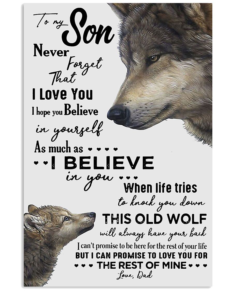 To My Son - Dad 11x17 Poster