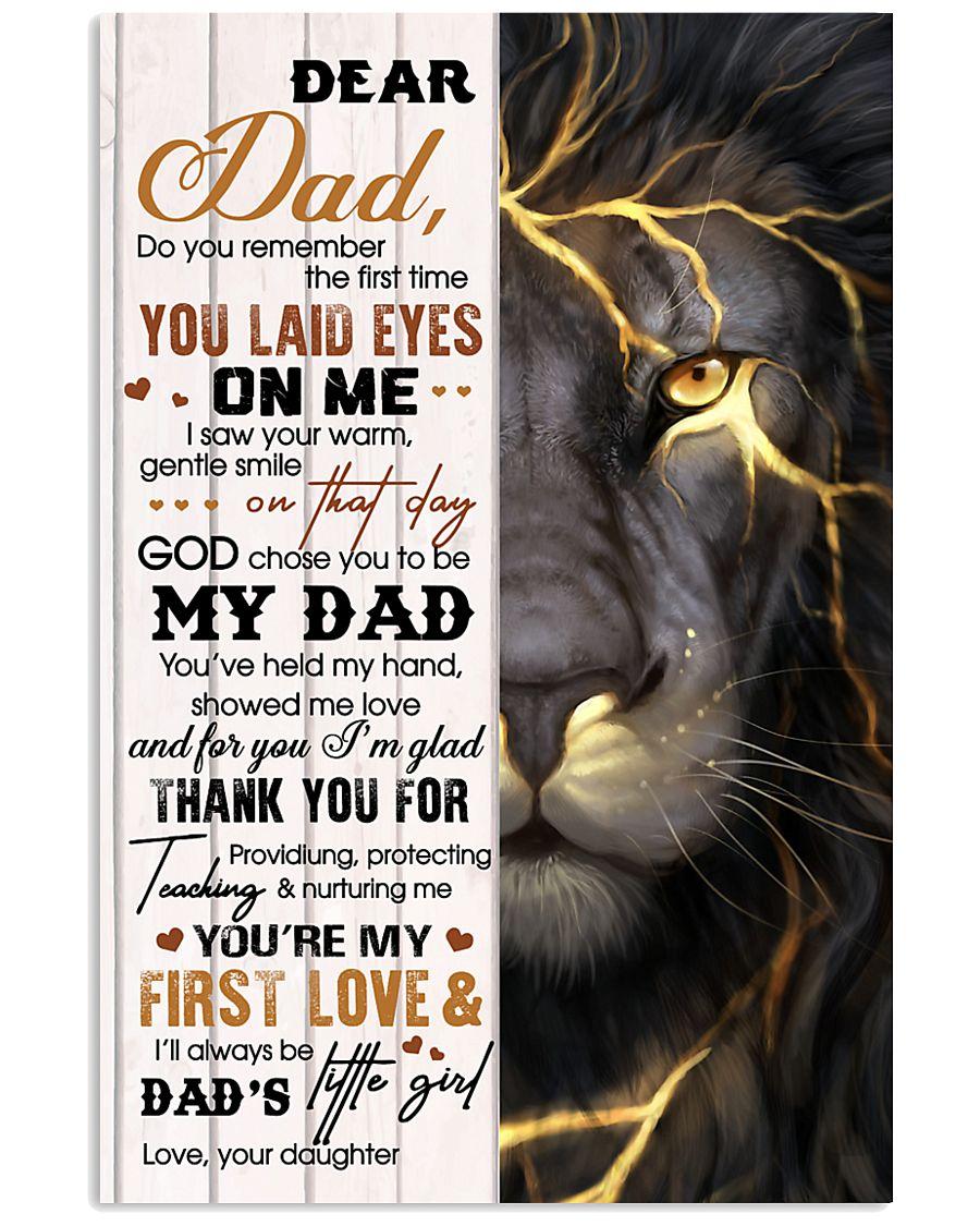 Dear Dad - Daughter 11x17 Poster