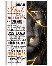 Dear Dad - Daughter 11x17 Poster front