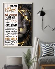 Dear Dad - Daughter 11x17 Poster lifestyle-poster-1