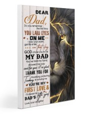 Dear Dad - Daughter 20x30 Gallery Wrapped Canvas Prints thumbnail
